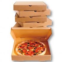 【預訂#100個】6寸牛皮披薩盒