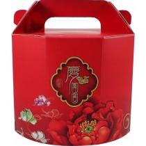 慶團圓 六角佛跳牆手提年菜盒 (20.5*18*17cm)