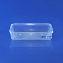 【整箱預訂】0.5公升 PP保鮮盒(15.5*11.5*4.1cm)(500組/箱)