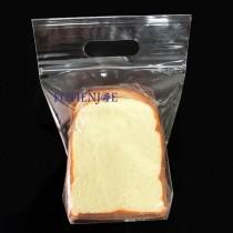 四分之1吐司-PP手提微立袋 (19*19.5+提把6+側寬5.5cm)(50入/包)