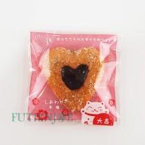 【買10送1】FJ-招財貓(紅) OPP印刷自黏袋 (8*8cm)