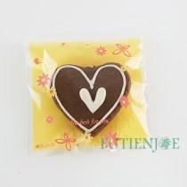 【買10送1】FJ-花舞(橘) OPP印刷自黏袋 (8*8cm)