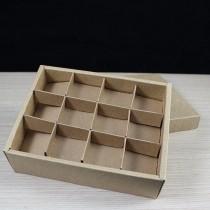 原色素材 12入浮雕玫瑰精品盒 (19*14.5*5cm)