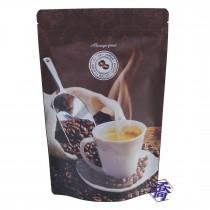 FJ-16A COFFEE一磅咖啡夾鏈氣閥袋 (185*280+45mm)(50入/包)