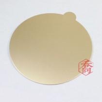 【買10送1】18cm金色圓型蛋糕紙托(50入/包)