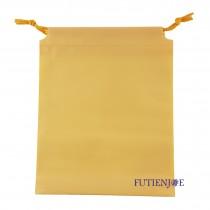 20.5*24.5+2.5*17cm鵝黃束口折角袋