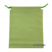 20.5*24.5+2.5*17cm青綠束口折角袋