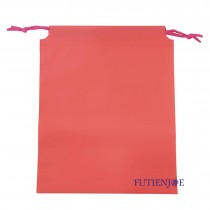 20.5*24.5+2.5*17cm桃紅束口折角袋