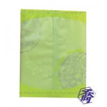 FJ-293 簡約(綠) KOP保鮮餅乾袋 (11*14.5cm)