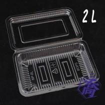 2L OPS食品盒(16.1*11.2*3cm)(100入/包)