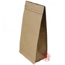 一磅 咖啡本牛方底夾鏈氣閥袋 (135+75*265+72mm)(50入/包)