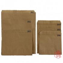 841本牛紙袋(21*27.3cm)(100入/包)