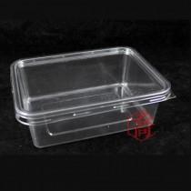 B-008 0.7公升PET保鮮盒(16*12*5.5cm)(50組/包)