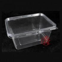 KF-007 一公升PET保鮮盒(15.5*11.5*7.8cm)(50組/包)