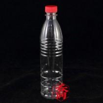 600cc紅蓋PET果汁瓶(120支/箱)