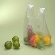 10斤白花袋(龍頭)【花袋/塑膠袋/背心袋/市場袋】