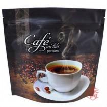 FJ-8 COFFEE 半磅咖啡夾鏈氣閥袋 (185*175+45mm)(50入/包)