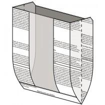 英文麵包開窗袋(15.5*22+6.5cm)(100入/包)