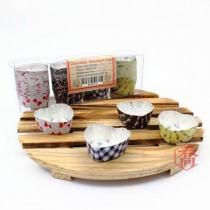 【特惠】心型巧克力鋁杯(2.8*1.5cm)(100入/盒)
