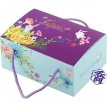 追尋幸福 20入牛軋餅提盒(20.5*14.4*9cm)