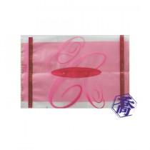 【特惠】進口-310-1 THE BEST(粉) PET餅乾袋 (8.5*12.5cm)