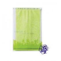 【特惠】FJ-311 花語(綠) KOP保鮮餅乾袋 (8.5*12.5cm)