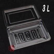 3L OPS 食品盒(19*12.6*3cm)(100入/包)