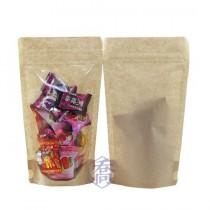 4兩 無印牛皮KPET保鮮夾鍊立袋 (120*210+35mm)(50入/包)