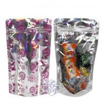 半斤紫花雷射 夾鏈立袋 (165*250+45mm)(50入/包)