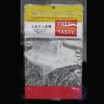 FJ-608 美味(黃) 夾鏈平袋 (150*250mm)(50入/包)