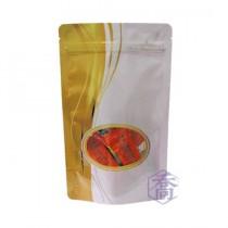 【年末特惠】進口-672-1 流金時光 夾鏈立袋 (120*210+35mm)(50入/包)