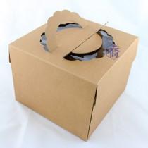 6吋原色開窗蛋糕盒 (19*19*15cm)
