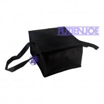 6吋全黑方型手提保冷/保溫袋(24*24*16cm)