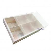 6粒 粉格大理石磨砂包裝通用盒 (23.5*16.5*5cm)