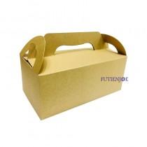 牛皮 6K野餐盒(21.5*11.5*9cm)