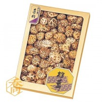 【7024】 椎茸 金箔香菇盒(25*35*4.8cm)