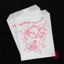 825薯條防油紙袋(11*15.5cm)(100入/包)