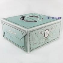 卡莎兒 手提8吋布丁盒/蛋糕盒(23.5*23.5*11.7cm)