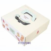 多莉絲 手提8吋派盒/蛋糕盒(24*24*9.5cm)