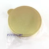 【買10送1】8cm金色圓型蛋糕紙托(50入/包)