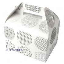 銀色光輝 8K造型野餐盒(14.5*11*9cm)