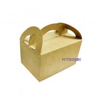 牛皮 9K野餐盒(14.5*11*9cm)