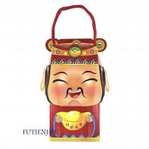 FJ-財神公仔 半斤盒(福氣財神爺)(8.5*10*19cm)