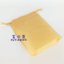 【限量特惠】15*20+4*12cm鵝黃束口折角袋