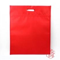 【S)】紅手提平面保冷/保溫袋(36*25+8cm)