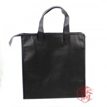 全黑立式手提保冷/保溫袋(36*18*35cm)