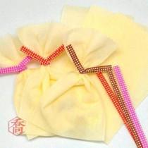 12cm格子(橘)紙魔棒(500入/包)
