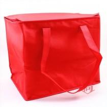全紅掀蓋式手提保冷/保溫袋(36*24*30cm)