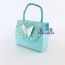 蝶戀(中藍) 手提禮盒(11*5.5*9cm)