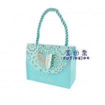 蝶戀(小藍) 手提禮盒(9*4*7cm)